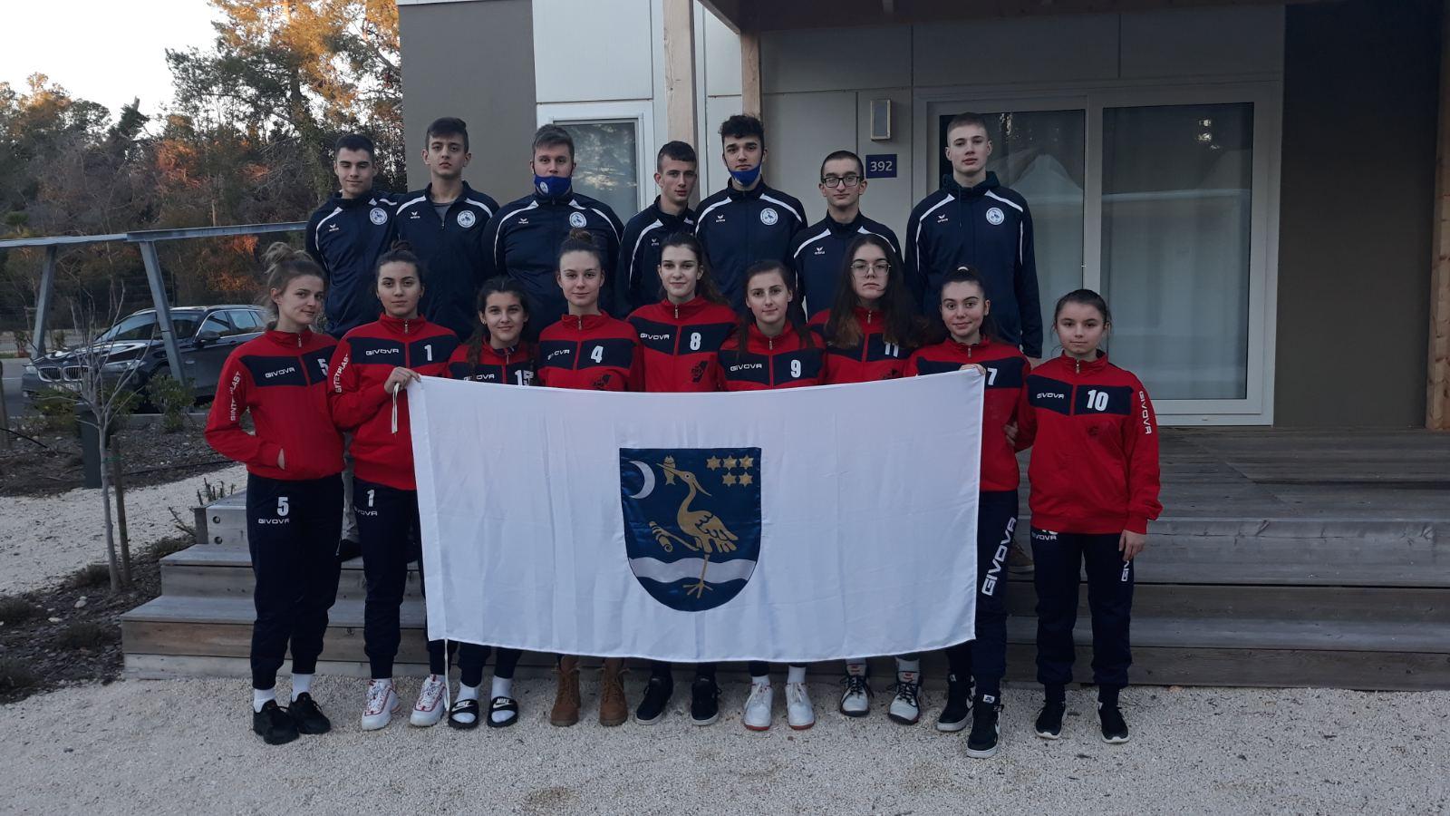 MOK Marsonia i OK Posavina Brod sudjelovali na Državnom juniorskom prvenstvu u odbojci