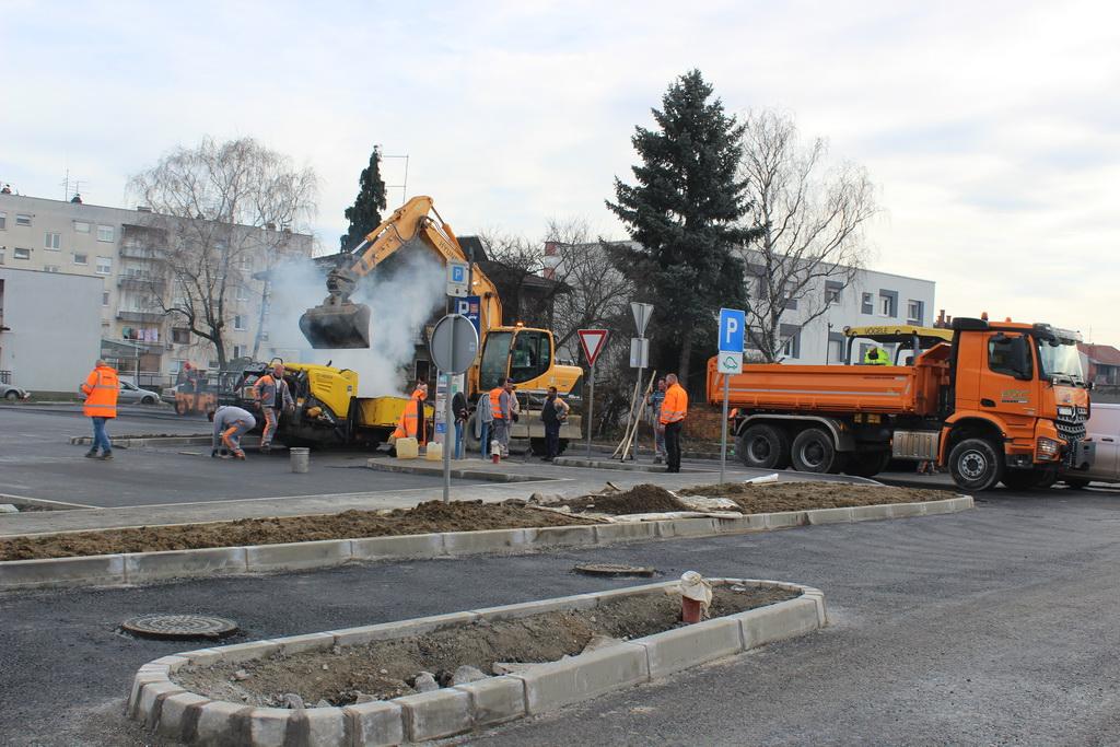 Radovi napreduju: Uskoro nova slika parkirališta u Ulici J. J. Strossmayera