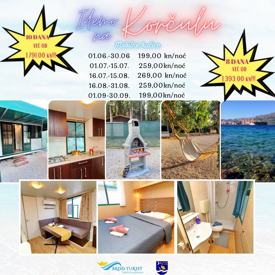 Otvorene prijave za ljetovanje na Korčuli