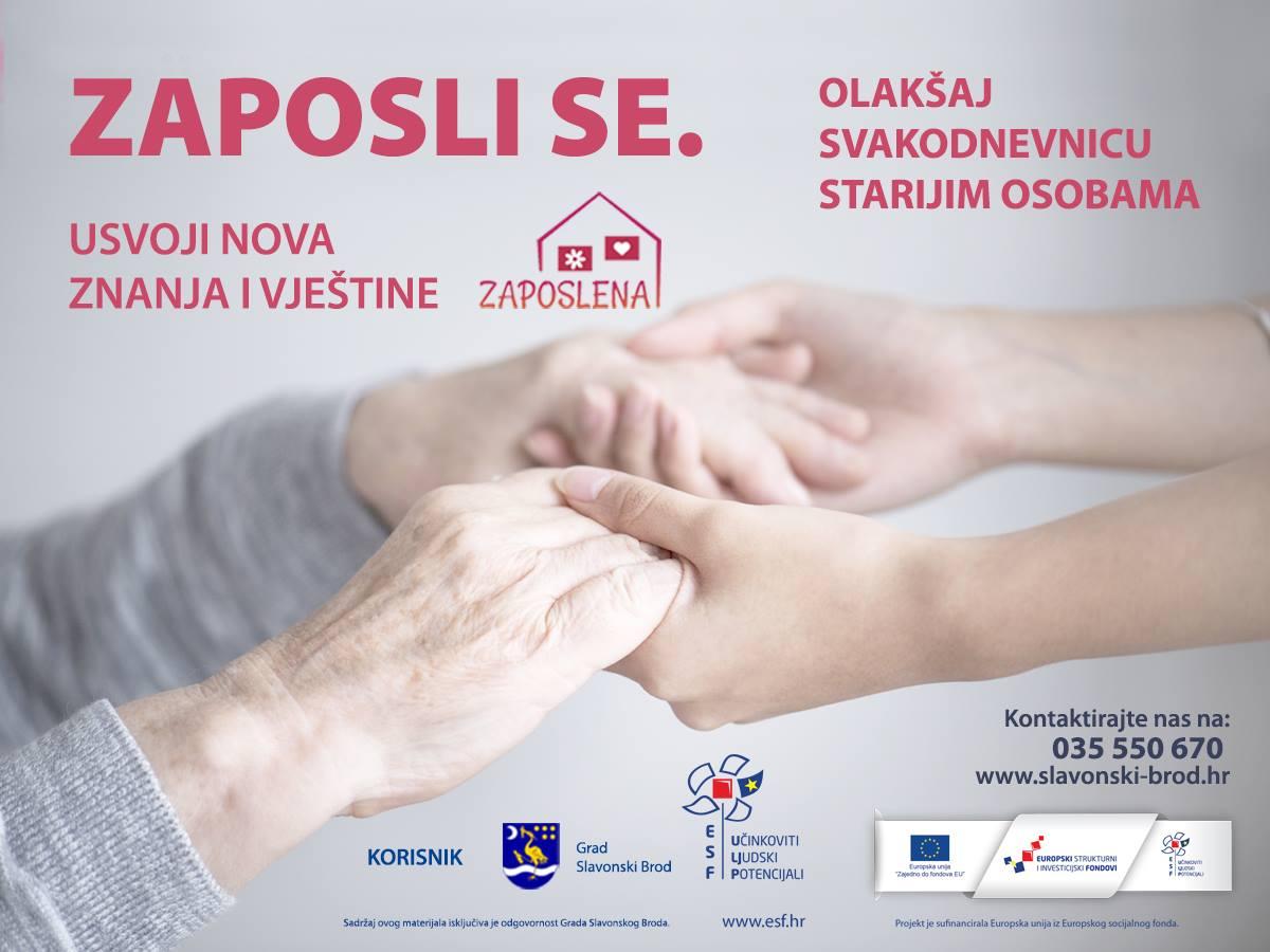 "Objavljen oglas za prijam u radni odnos na projektu ""Zaposlena"" faza II"
