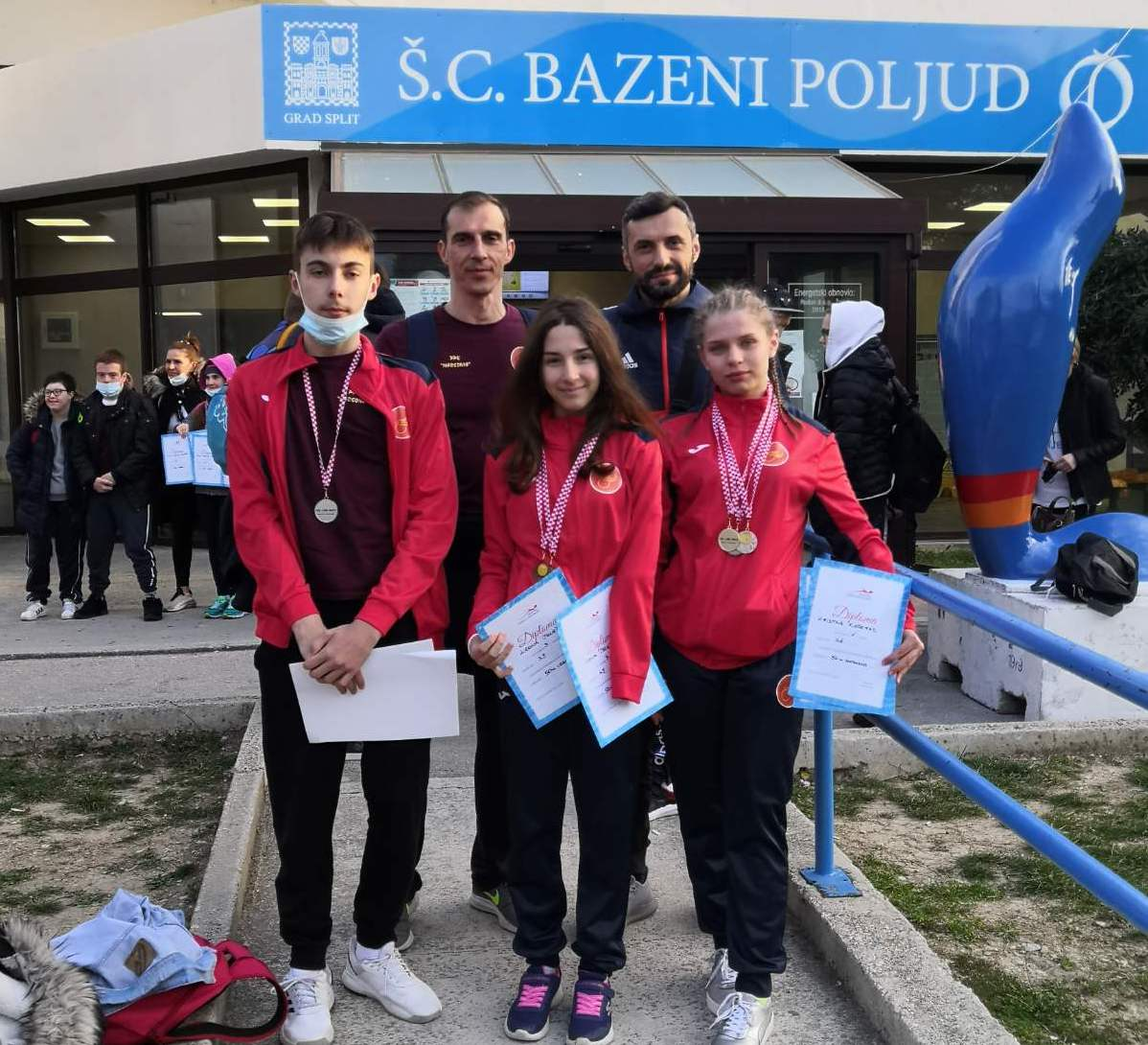 Naši paraplivači uspješni na Otvorenom prvenstvu Hrvatske u paraplivanju - Croatia open 2021