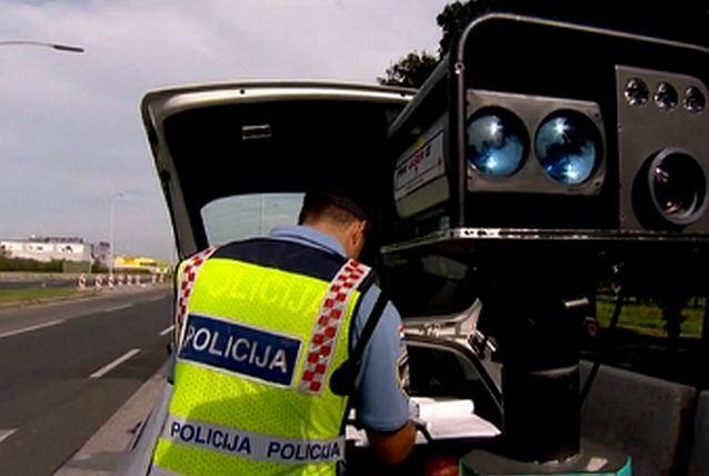 Policija poziva građane na sudjelovanje u 24-satnoj akciji nadzora brzine