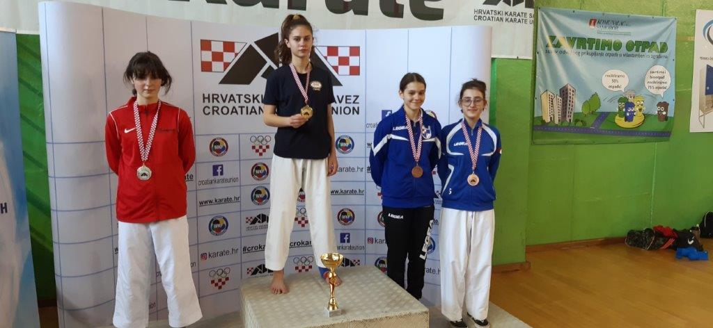 Brodski karataši uspješni na prvenstvu Hrvatske, Ana Lujić putuje na Europsko prvenstvo