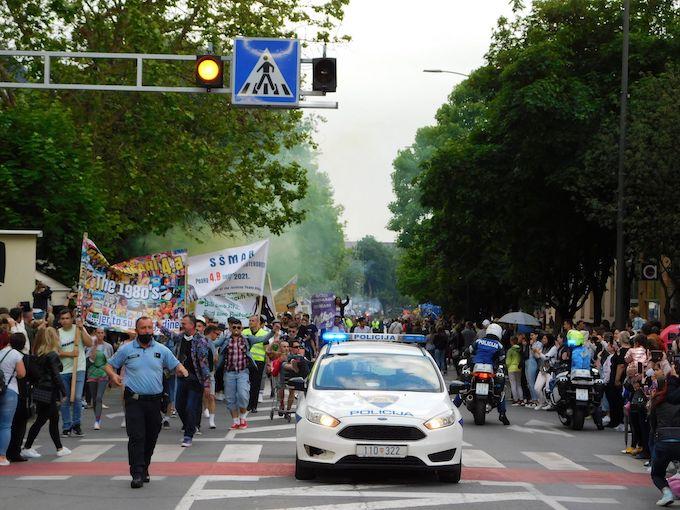 Norijada 2021: Najoriginalniji maturanti u Hrvatskoj prošetali su ulicama grada