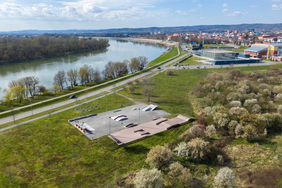 Grad Slavonski Brod uskoro započinje s proširenjem skate parka na Vijušu