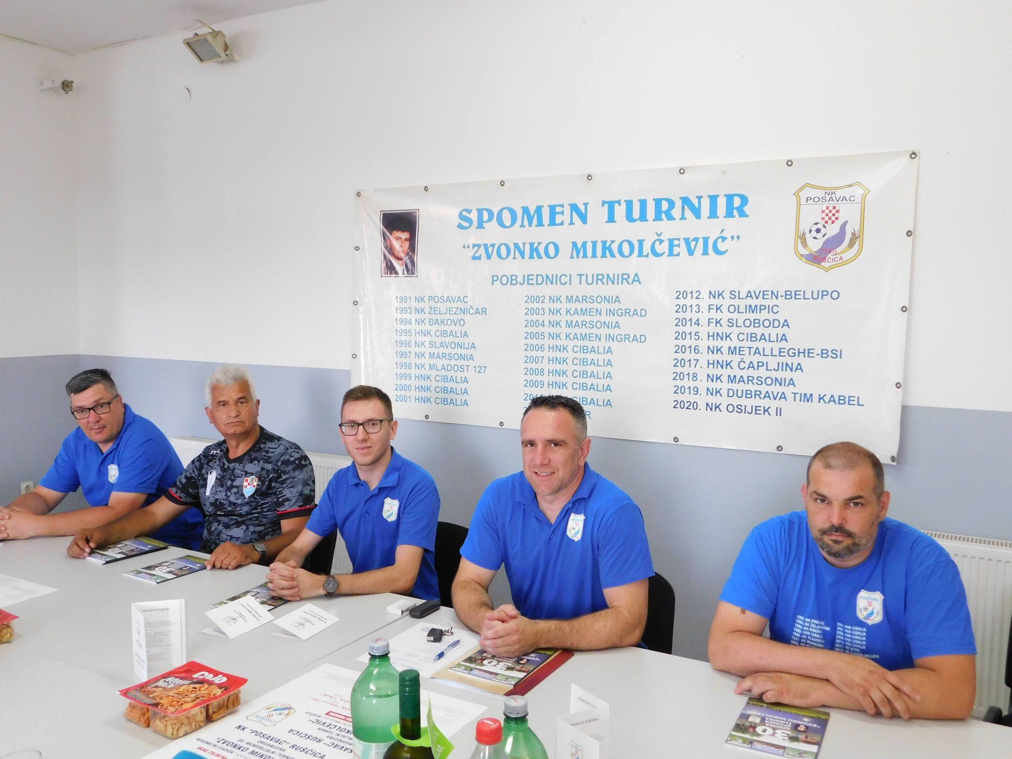 """Program održavanja 30. Memorijalnog turnira """"Zvonko Mikolčević"""""""