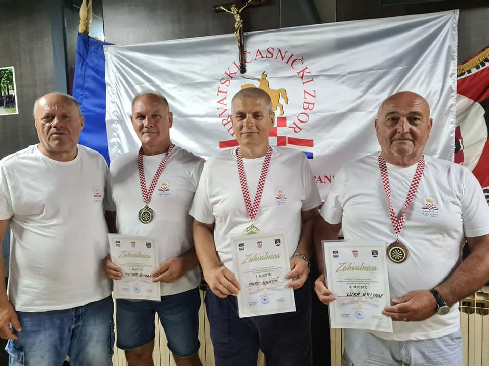 Održan pikado turniru povodom 30. godišnjice Hrvatskog časničkog zbora grada Slavonskog Broda i Brodsko-posavske županije