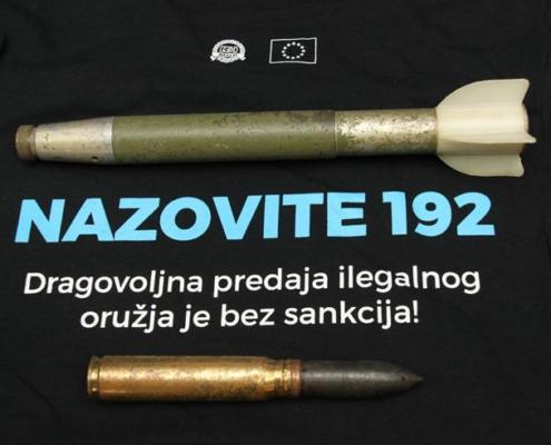 U blizini Dubočca pronađen topnički projektil