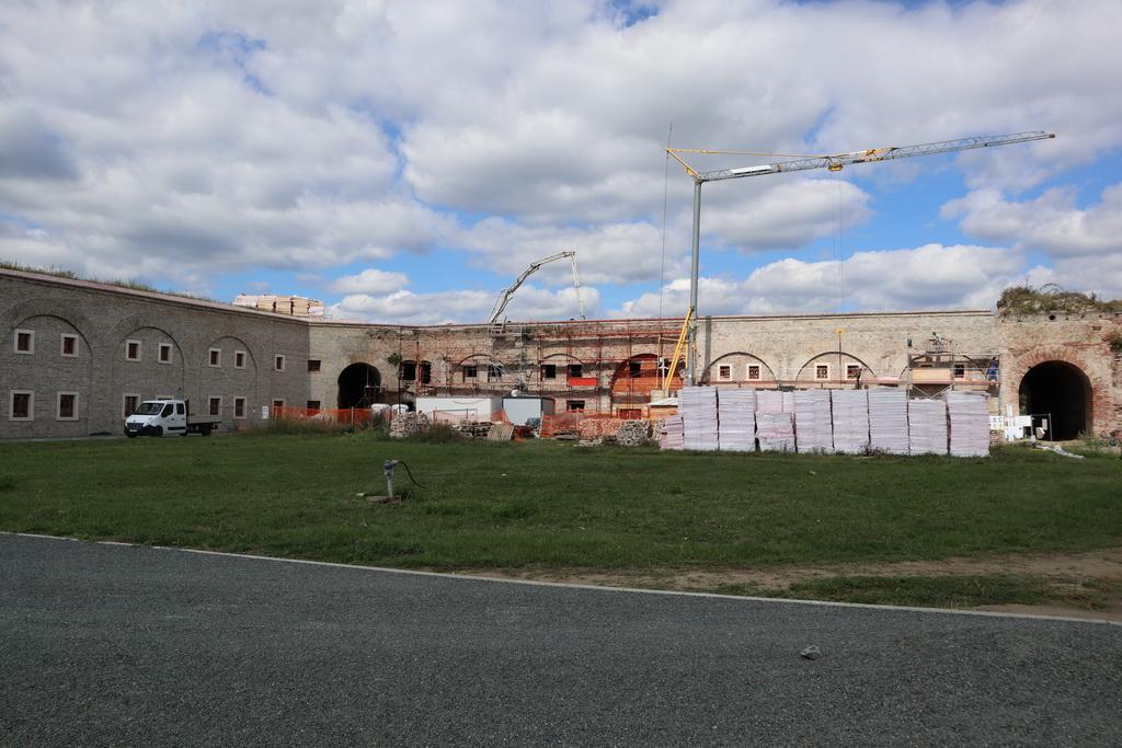 Vanjski radovi na rekonstrukciji zapadnog dijela sjevernog kavalira u Tvrđavi Brod privode se kraju