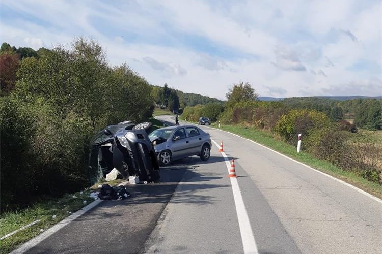 Završen očevid današnje prometne nesreće u kojoj su ozlijeđene četiri osobe