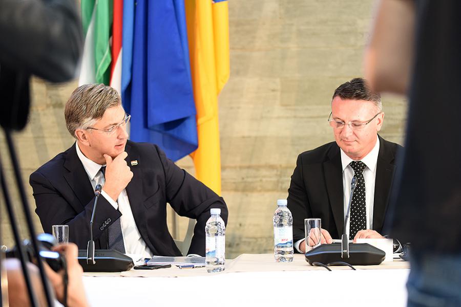 Župan Marušić na sastanku Vlade Republike Hrvatske sa županima