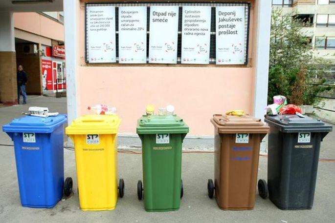 Potpisan ugovor za nabavu novih kanti za razvrstavanje otpada