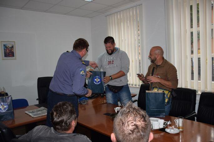 Švicarski policajci posjetili kolege u Slavonskom Brodu