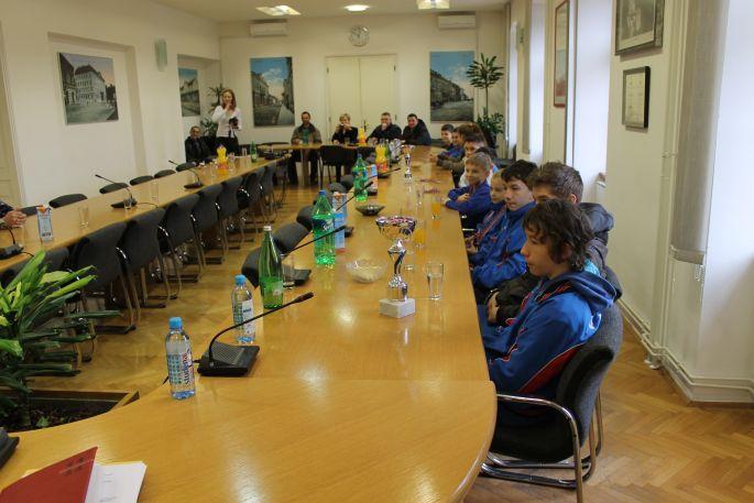 Slavonski Brod - Karate klub ´Slavonski Brod´ kod gradonačelnika