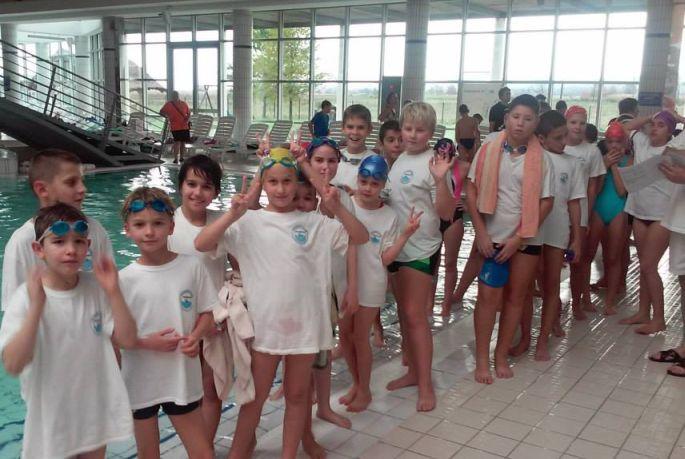 Prvo službeno natjecanje plivača Marsonije
