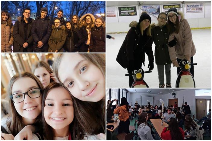 Učenici i profesori Srednje škole Matija Antun Reljković  u Mađarskoj zajedno s kolegama iz Grčke i Turske kroz program Erasmus+