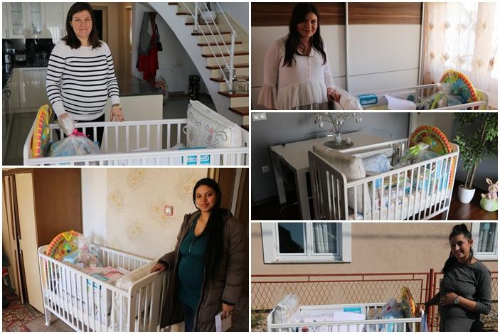 Opremu za prvo dijete primilo je još deset brodskih obitelji, bez obzira na financijske mogućnosti