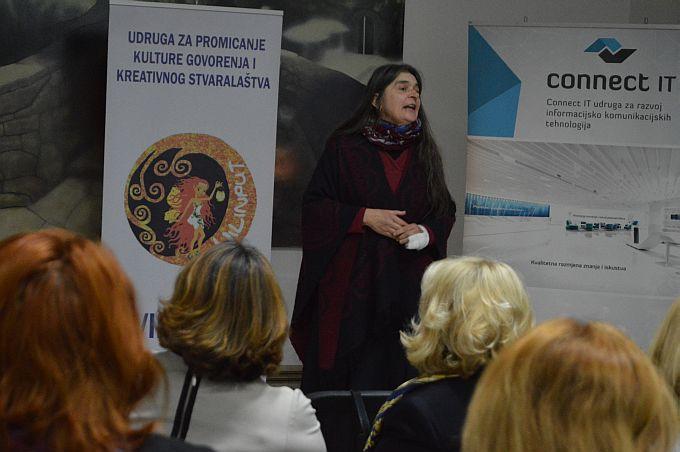 Pripovjedačica Jasna Held pričom o prelijepoj Psihe i ljubomornoj Veneri zatvorila 4. Festival pripovijedanja u Slavonskom Brodu