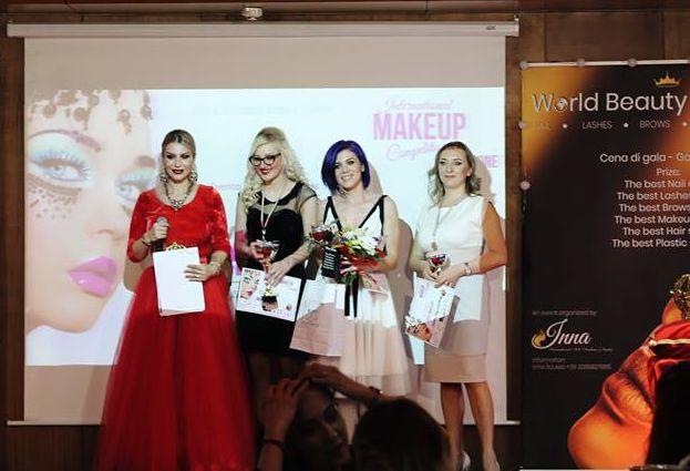 Brođanka Ana Vlajnić, savršeno šminka ali i kreira, osvojila  je 2. mjesto na internacionalnom šampionskom natjecanju u Torinu