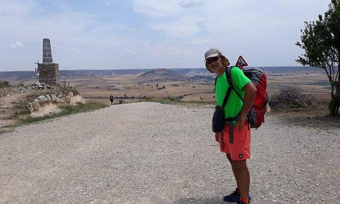 Ivan Opačak na hodočašću u Španjolskoj,  Santioga de Compastela, 30 dana hoda za duhovni preporod