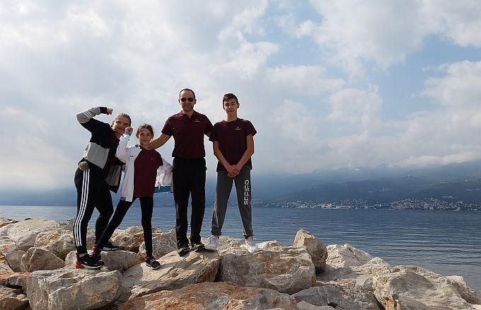 Nakon otvorenog regionalnog prvenstva- festivala plivanja za osobe s invaliditetom, Kristina i Leona pozvane u reprezentaciju Hrvatske