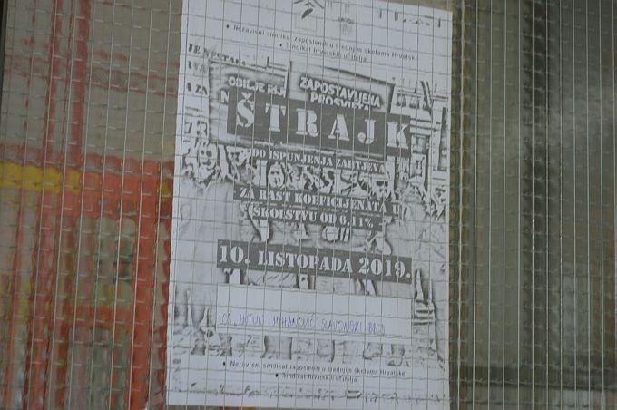 Sindikati objavili koje će županije sutra biti u štrajku, uputili oštre poruke
