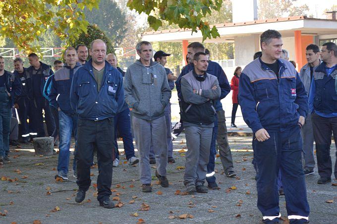 Ponedjeljak je a plaće za Đurine radnike još nema, štrajk se nastavlja, u srijedu se pripremaju za akciju
