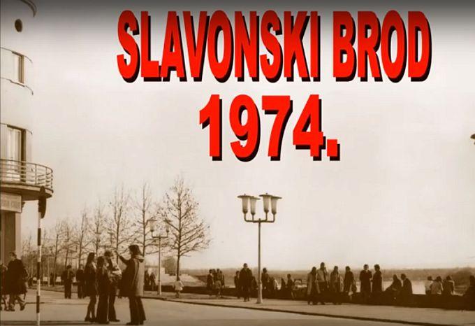 Kako je izgledao Slavonski Brod davne 1974. godine pogledajte u snimci Ivana Crnkovića