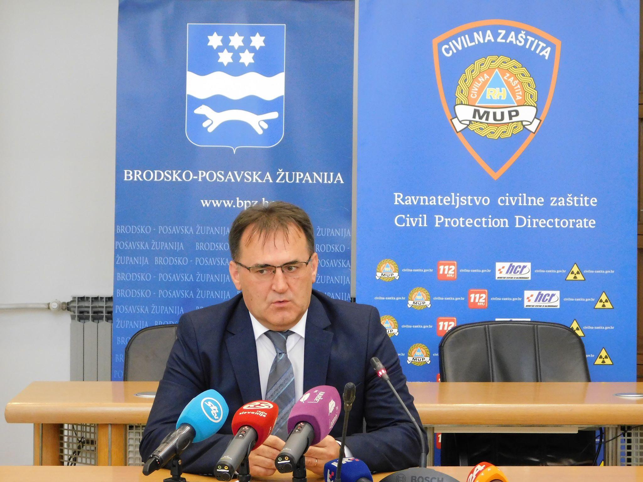 Danas je održana sjednica Stožera civilne zaštite Brodsko-posavske županije