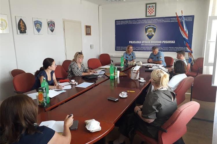 Održani preventivni sastanci na razini Policijske uprave Brodsko-posavske