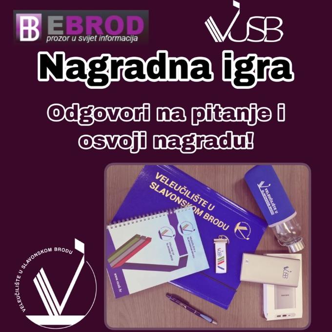 Veleučilište u Slavonskom Brodu te nagrađuje: Odgovori na pitanje i osvoji nagradu!