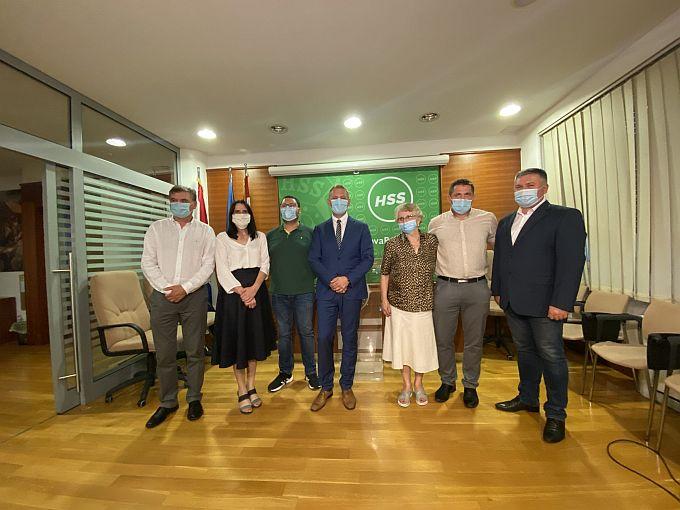 Klara Šćuka jedna je od pet potpredsjednika HSS-a kojoj su delegati na Gavnoj izbornoj skupštini dali povjerenje
