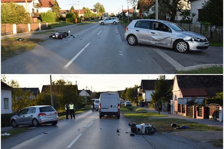 U prometnoj nesreći dvije osobe lakše ozlijeđene
