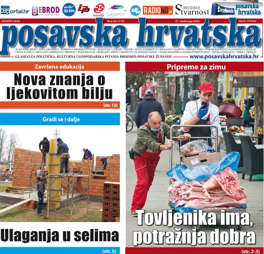 Posavska Hrvatska u novom broju donosi: Vrijeme je svinjokolja, hoće li nam pušnice ove zime biti pune?