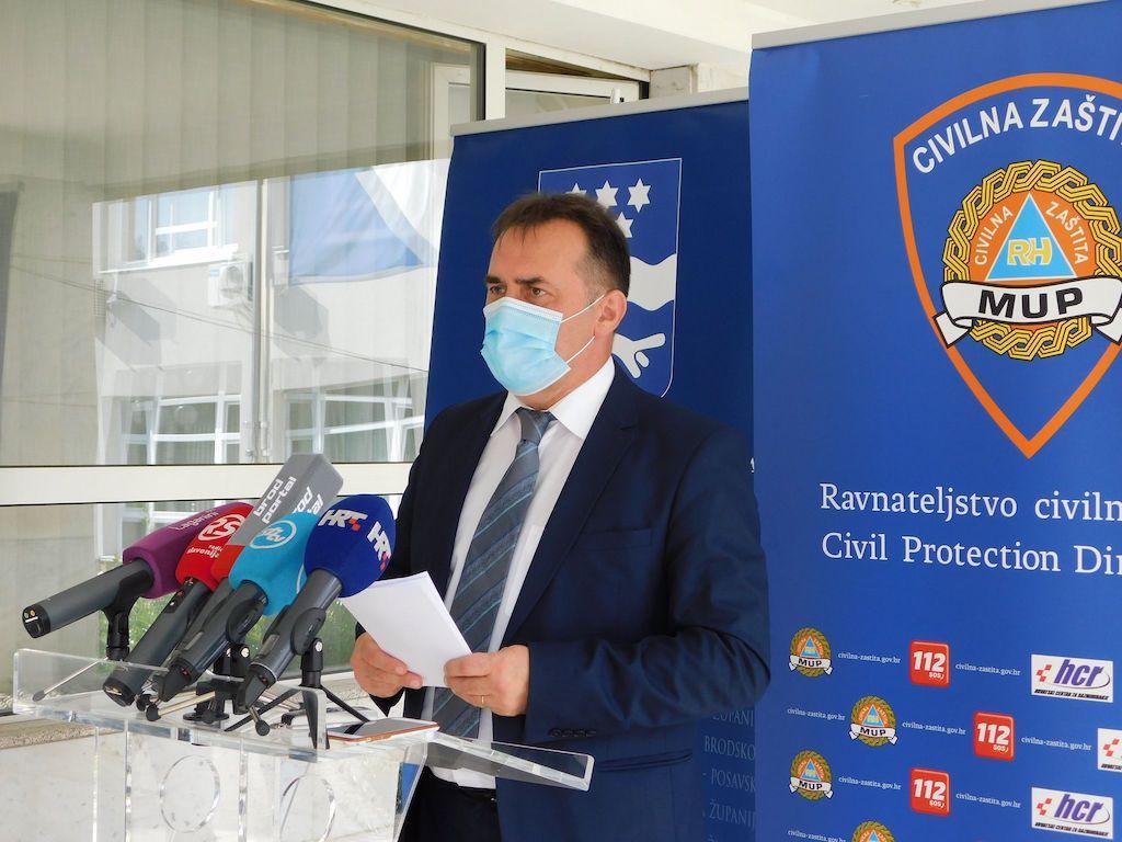 U Brodsko-posavskoj županiji danas 155 novih pozitivnih osoba