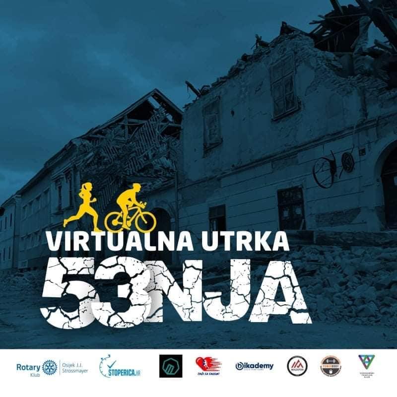 """Uključi se i ti: Humanitarna virtualna utrka """"Hodaj, trči, bicikliraj za Petrinju"""""""