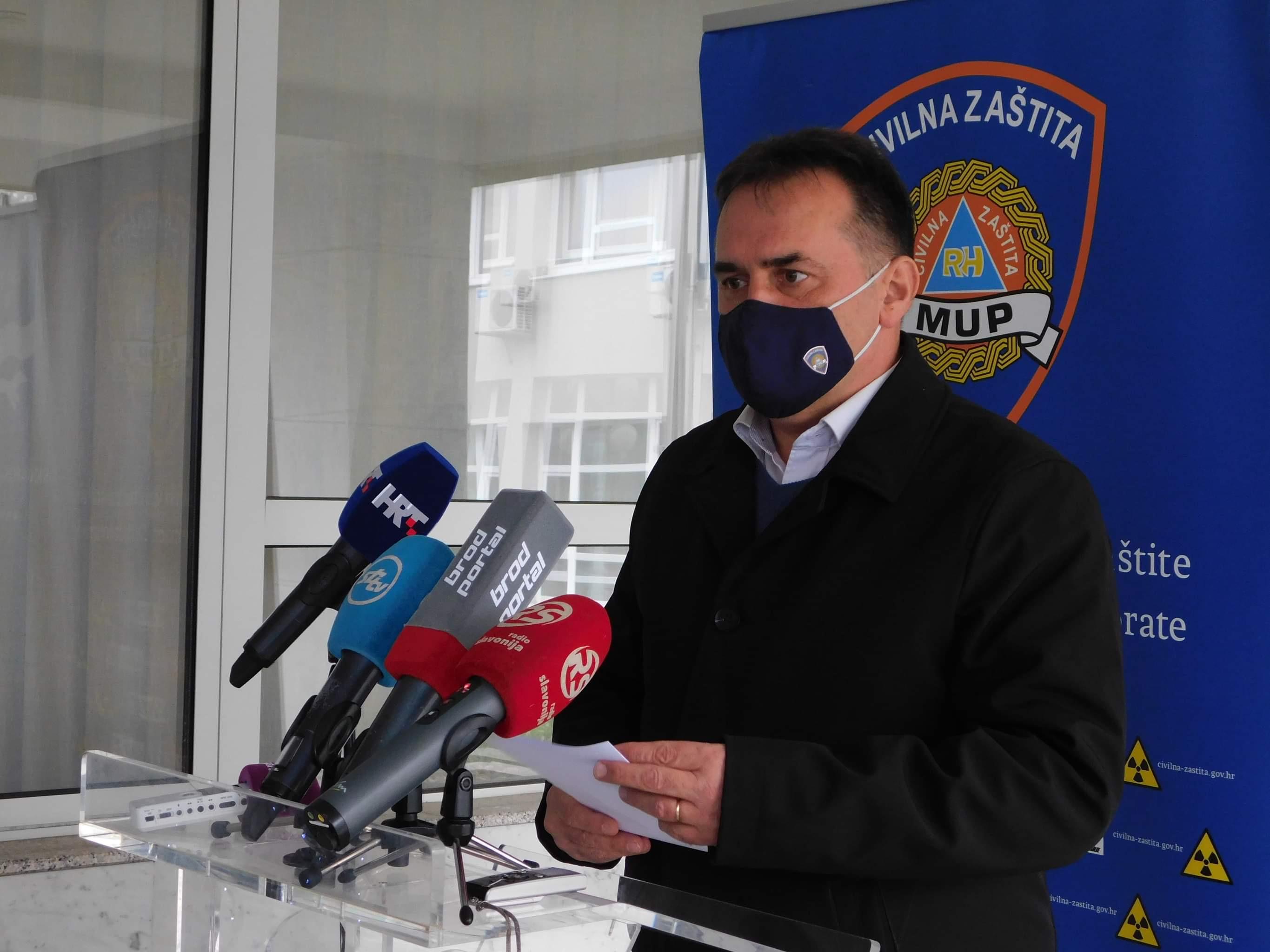 U Brodsko-posavskoj županiji danas 27 novih slučajeva, jedna osoba je preminula
