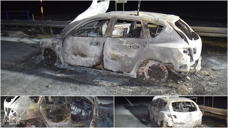 Poznat uzrok požara osobnog automobila na autocesti A3
