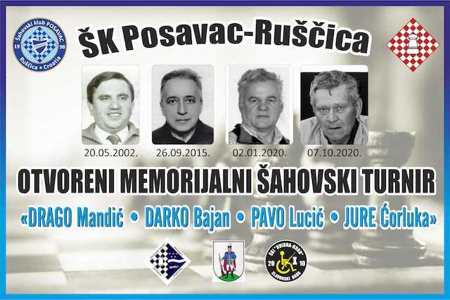 "ŠK ""Posavac"" Ruščica organizira turnir pod nazivom 19. Memorijal ""Drago Mandić-Darko Bajan-Pavo Lucić-Jure Ćorluka"""