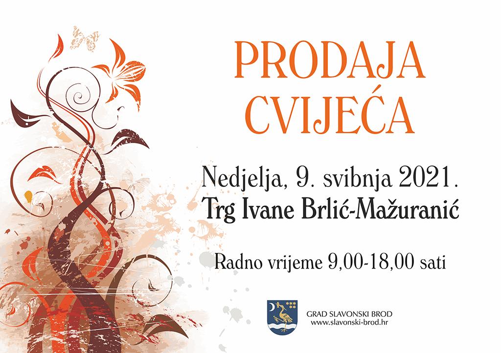 Cvjetna oaza u našem gradu - Grad Slavonski Brod organizira prodaju cvijeća