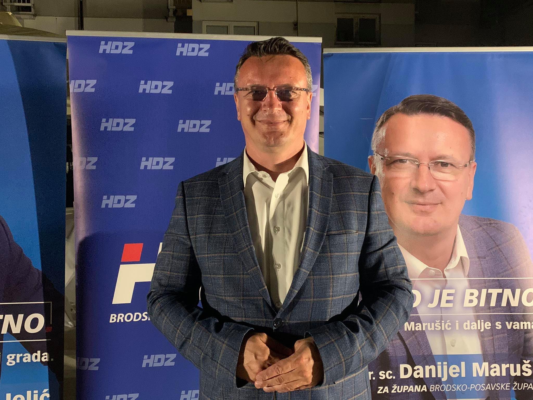 Danijel Marušić : Bit ću župan svih građana i svojim radom opravdati ukazano povjerenje