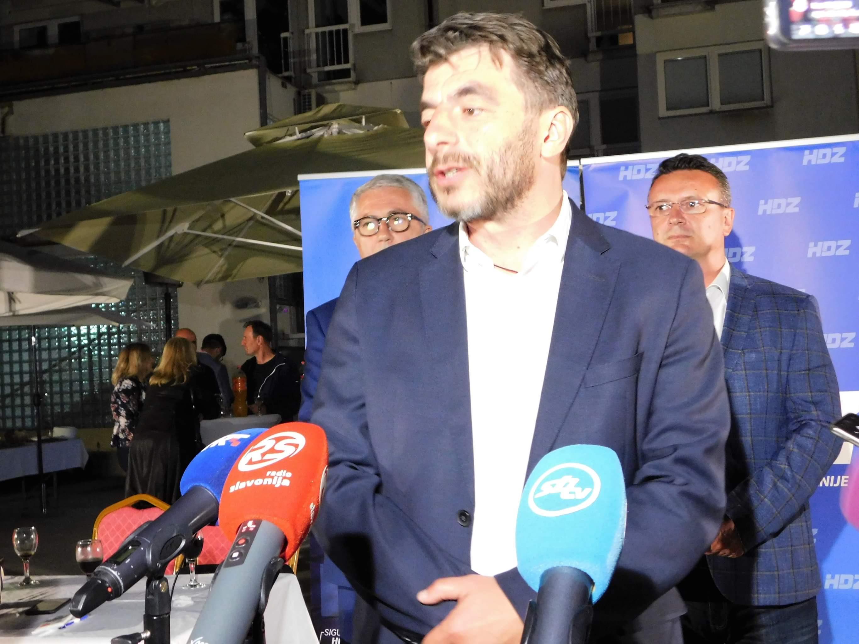 Dragan Jelić zadovoljan je rezultatom: U drugom krugu možemo dobiti izbore!