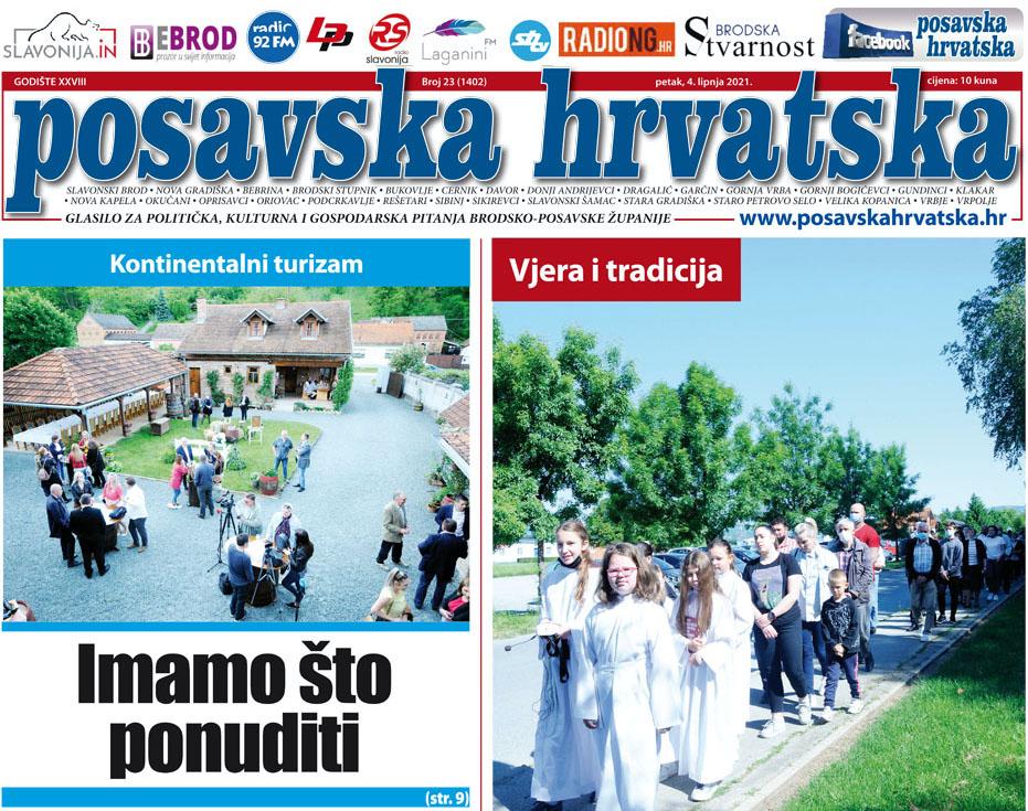 Posavska Hrvatska u novom broju donosi: Ne trebamo se stidjeti svoga, imamo što ponuditi turistima!