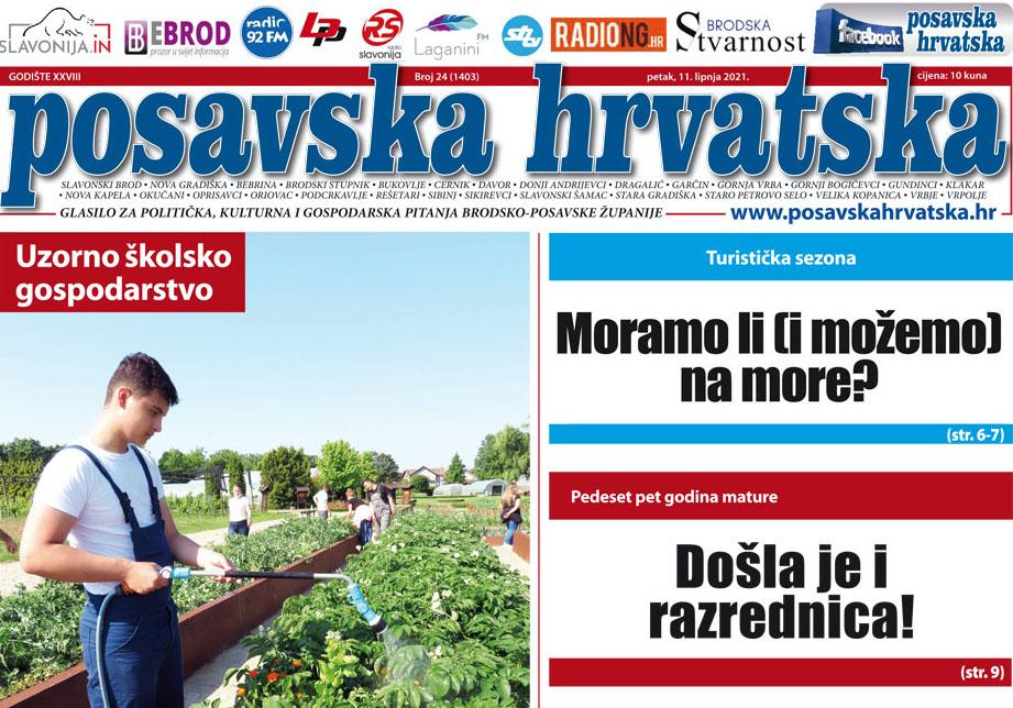 Posavska Hrvatska u novom broju donosi: Obilježili su pedeset petu godišnjicu mature, a došla im je i razrednica!