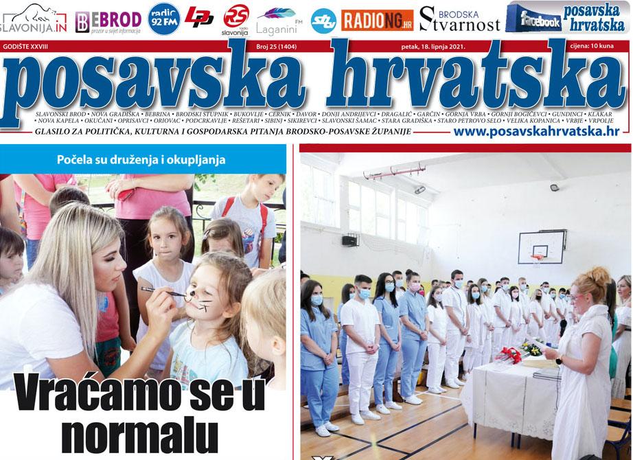 Posavska Hrvatska u novom broju donosi: Vraćaju nam se manifestacije, fešte, proslave